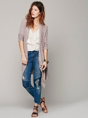 Striped Cardigan at Free People