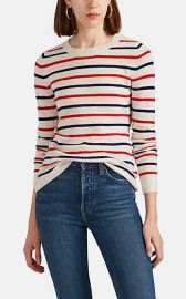 Striped Cashmere Sweater at Barneys Warehouse