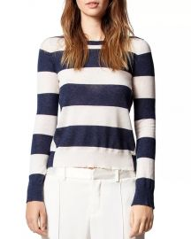 Striped Cashmere Sweater at Bloomingdales