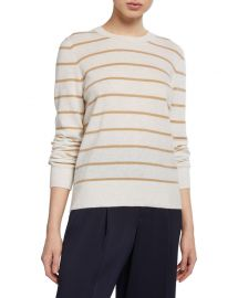 Striped Cashmere Sweater by Vince at Neiman Marcus