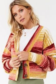 Striped Chenille Sweater at Forever 21