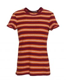 Striped Cotton-jersey T-shirt by James Perse at The Outnet