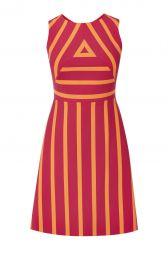 Striped Dress at Karen Millen