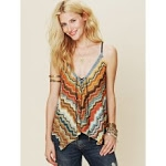 Striped Free People top at Free People