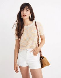 Striped Lakedale Sweater Tee at Madewell