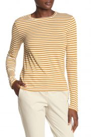 Striped Long Sleeve T-Shirt by Vince at Nordstrom Rack
