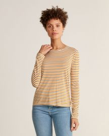 Striped Long Sleeve T-Shirt by Vince at Century21