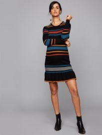 Striped Maternity Dress at Destination Maternity