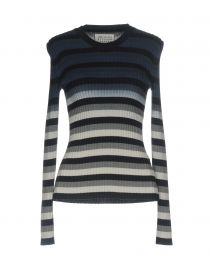 Striped Ombre Knitted Jumper by Maison Margiela at Yoox