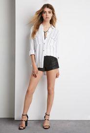 Striped Pocket Shirt  Forever 21 - 2000142174 at Forever 21