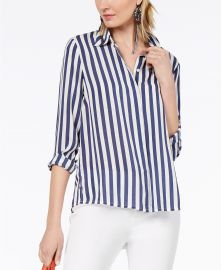 Striped Shirt by INC International Concepts at Macys