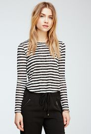 Striped Slub Knit Top  Forever 21 - 2000054405 at Forever 21