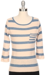 Striped Sweater by Autumn Cashmere at Ron Herman