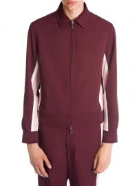 Striped Track Jacket at Saks Off Fifth