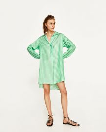 Striped Tunic at Zara