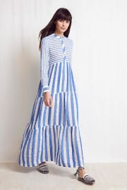 Striped Warm Dress at Vogue