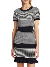 Striped Wave Dress by Milly at Saks Fifth Avenue