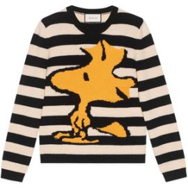 Striped Woodstock Sweater by Gucci at Gucci