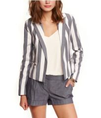 Striped blazer at Express