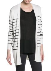 Striped cardigan at Mango