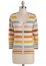 Striped cardigan from ModCloth at Modcloth