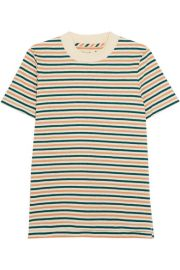 Striped cotton T-shirt by Madewell at Net A Porter