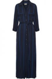 Striped crepe maxi dress at The Outnet