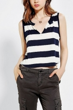 Striped crop top by BDG at Urban Outfitters