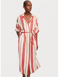 Viscose Satin Shirt Dress at Scotch & Soda