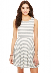 Striped dress at Delias