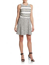 Striped dress at Saks Off 5th