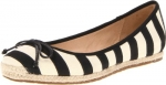 Striped flats from New Girl at Amazon