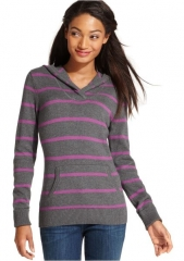 Striped hoody by Tommy Hilfiger at Macys