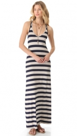 Striped maxi dress by Feel the Piece at Shopbop