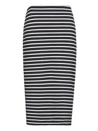 Striped pencil skirt at Banana Republic