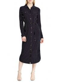Striped shirtdress at Lord & Taylor