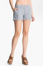 Striped shorts  at Nordstrom