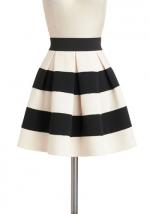 Striped skirt like Sadies at Modcloth
