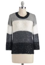 Striped sparkley sweater at Modcloth at Modcloth