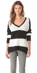 Striped sweater by Free People at Shopbop