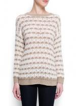 Striped sweater by Mango at Mango