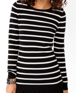 Striped sweater from Forever 21 at Forever 21