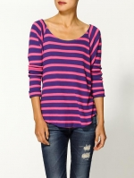 Striped sweatshirt like Carries at Piperlime