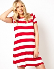 Striped swing dress by ASOS at Asos