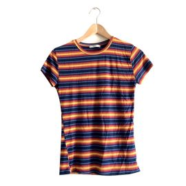 Striped t-shirt at Zara