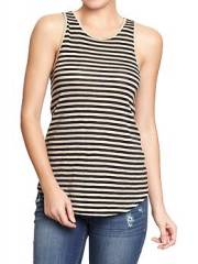 Striped tank at Old Navy