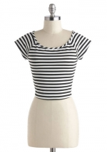 Striped top at Modcloth at Modcloth