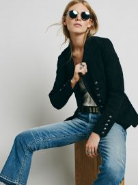 Structured Washed Blazer at Free People
