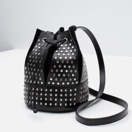 Studded Bucket Bag at Zara