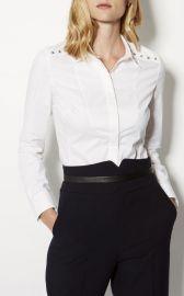 Studded Collar Shirt by Karen Millen at Karen Millen
